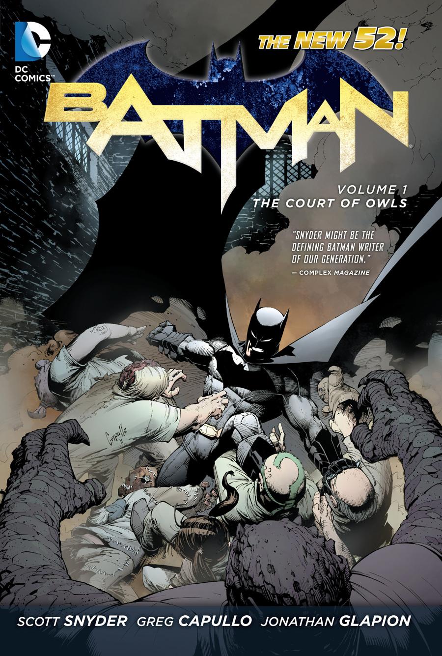 Batman Digital Graphic Novels $6, Single Issues $1: Court of Owls  $6 & More