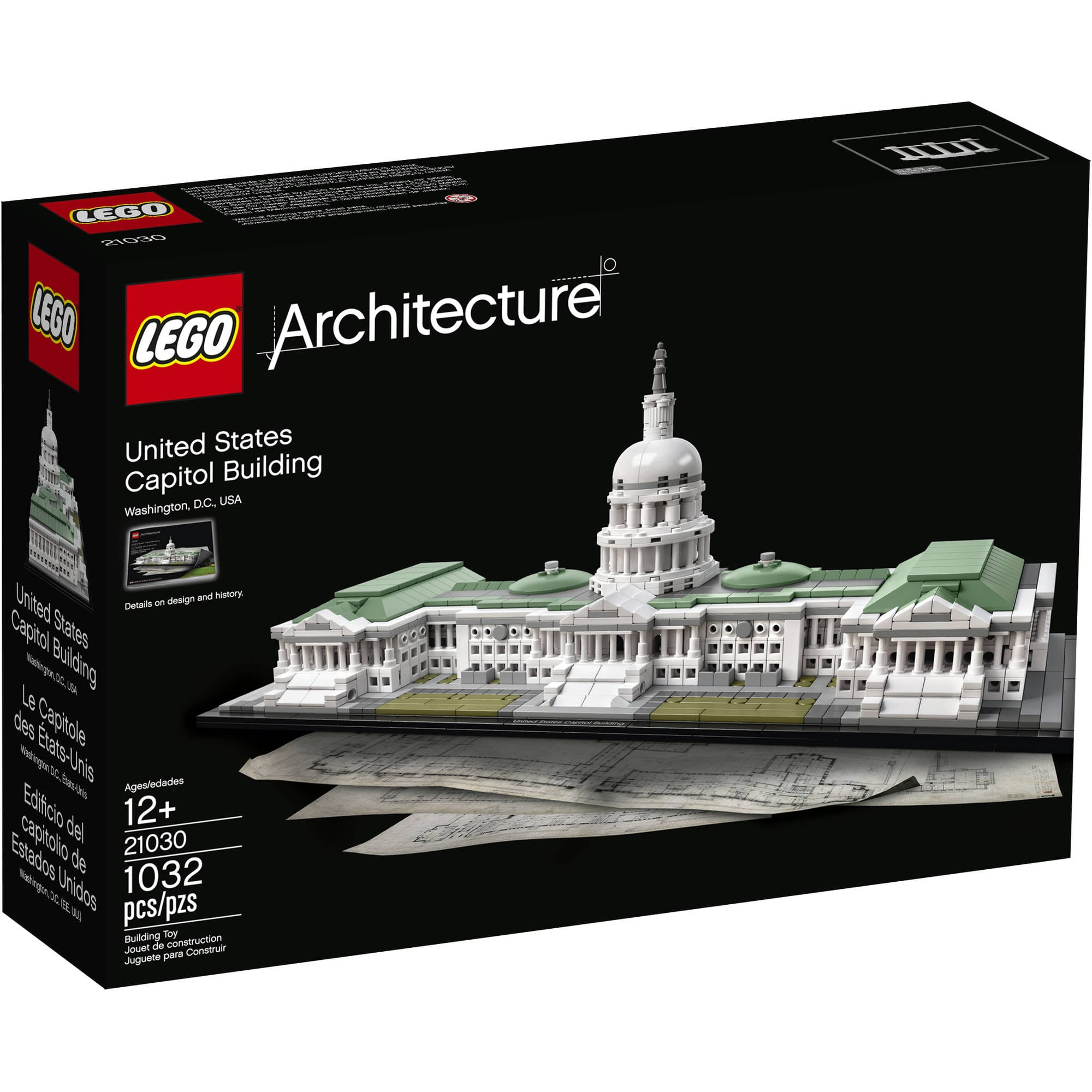 LEGO Architecture: United States Capitol Building Kit  $75 + Free Shipping