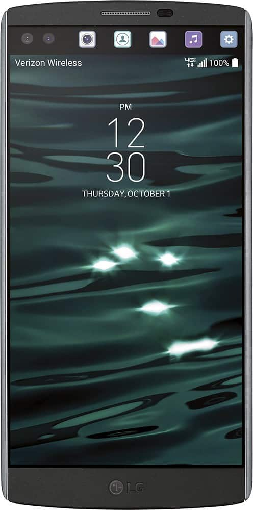64GB LG V10 Verizon 4G LTE Smartphone (Black)  $300 + Free Shipping