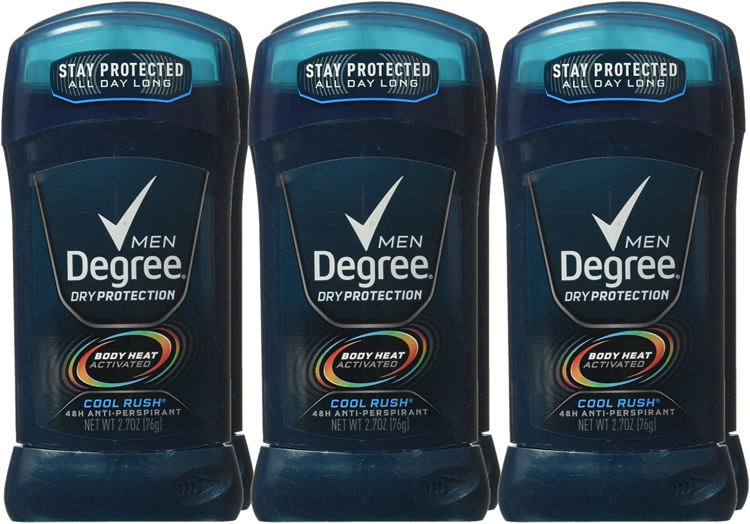 6-Pack Degree Men Dry Protection Antiperspirant in Cool Rush for $9.31 (5% S&S) or less w/ 15% & AC + free ship