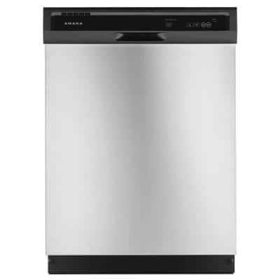 Dishwashers: Amana Front Control Dishwasher in Stainless Steel $248 & more at Home Depot *Today Only*