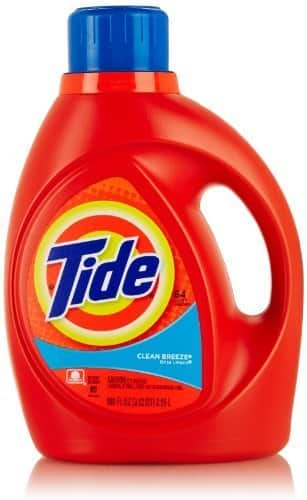 3-Count 100oz Tide Liquid Laundry Detergent + $10 Target Gift Card  $26.40 & More + Free S&H