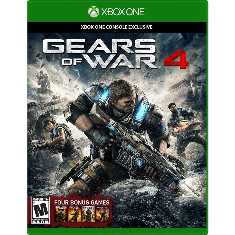 Best Buy Stores: Trade-in Select PS4/XB1 Games for Minimum  $20 Gift Card (+ $10 coupon off Gears 4)