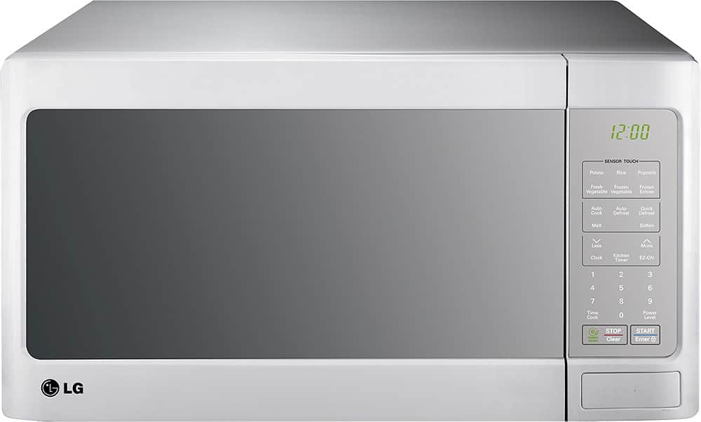 LG 1.4 Cu. Ft. 1100W Mid-Size Microwave (Smooth White)  $68.40 + Free Store Pickup