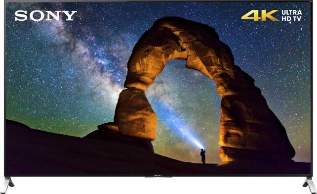 Sony XBR-65X900C - 65-inch 4K Ultra HD 3D Smart LED TV $1199 + Free Shipping