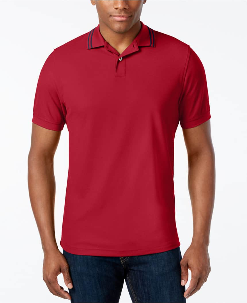 Men's Polo Shirts: IZOD, Club Room, G.H. Bass & More  3 for $22