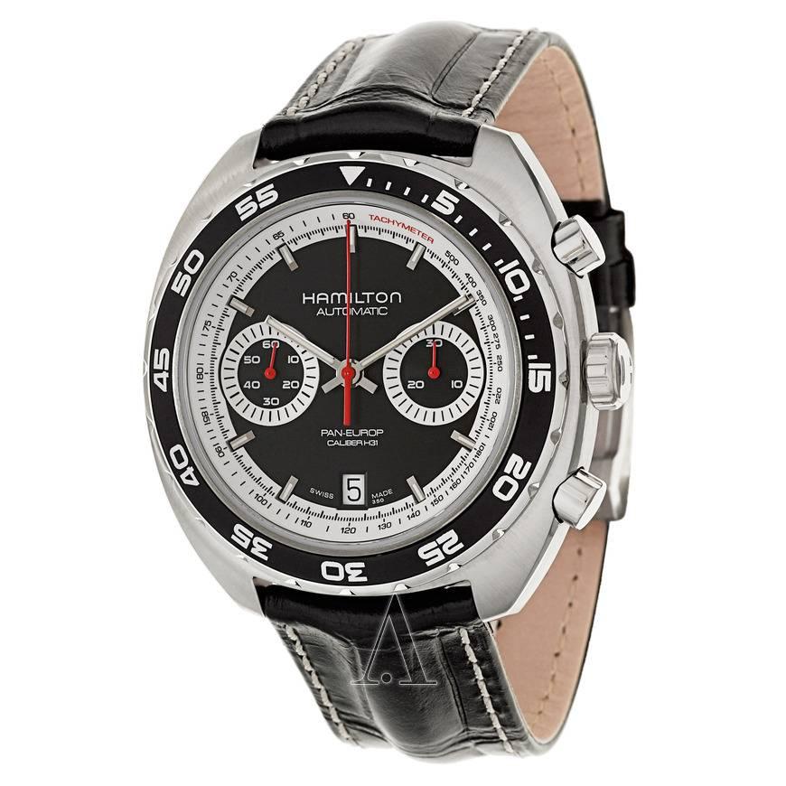 Hamilton Men's Timeless Classic Pan Europ Automatic Chronograph Watch  $599 + Free Shipping