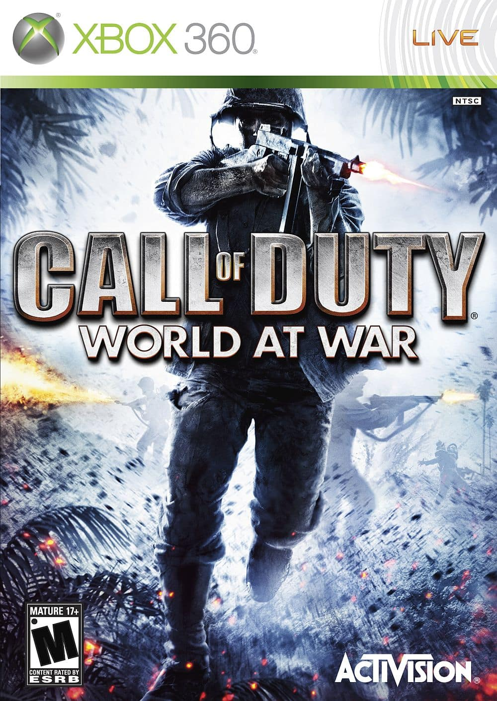 Call Of Duty : World At War & Black Ops - $9.99 each with Gold Sale - Xbox 360 Backwards Compatible - Digital Download