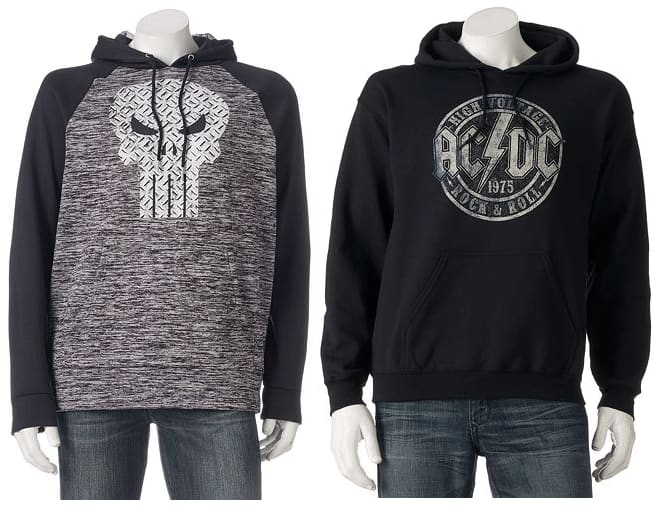 Kohl's Cardholders: Men's Graphic Hoodies: Star Wars, Batman, Superman & More  2 for $31 + Free Shipping