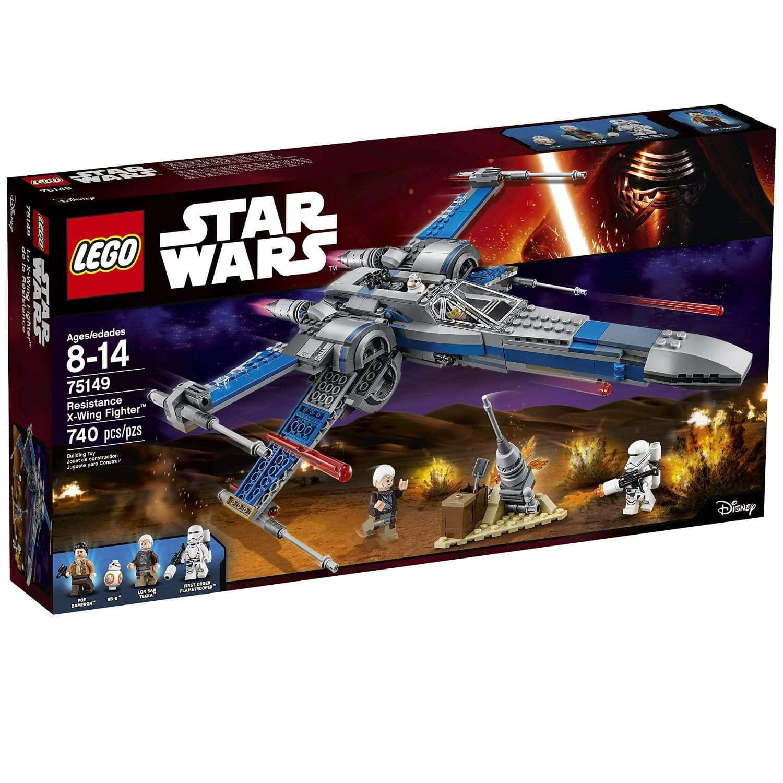 lego star wars resistance x-wing fighter - slickdeals