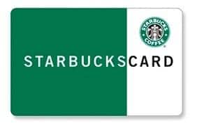 Verizon Smart Rewards Members: $5 Starbucks Gift Card 500 Points + Free S&H (VZW Customers Only)