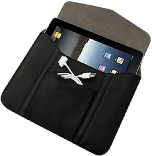 "2-Pack Verizon Leather Tablet Sleeves for Tablets up to 10"" $3.75 + Free Store Pickup"