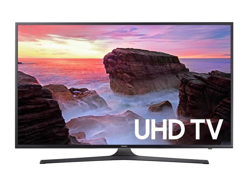 """43"""" Samsung UN43MU6300 4K Ultra HD Smart HDTV + $150 Gift Card - $449.99 after $100 Slickdeals Rebate + Free Shipping"""