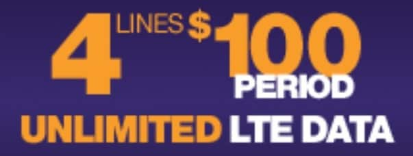 MetroPCS Stores: 4 Lines Prepaid Unlimited Talk, Text & Data - Page