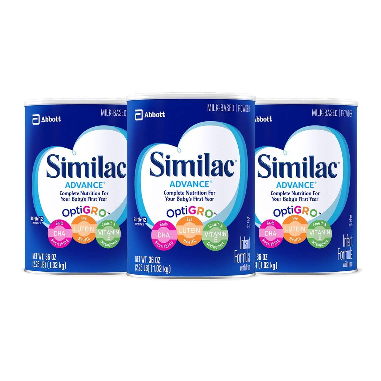 Similac Advance Infant Formula with Iron, Powder, lb.