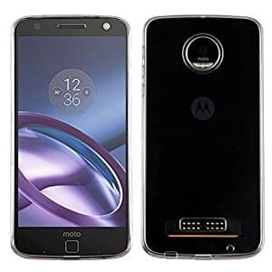 buy online fccfe 5ef81 Amazon Add-On Item: MyBat Clear Bumper Case for Motorola Moto Z Play ...