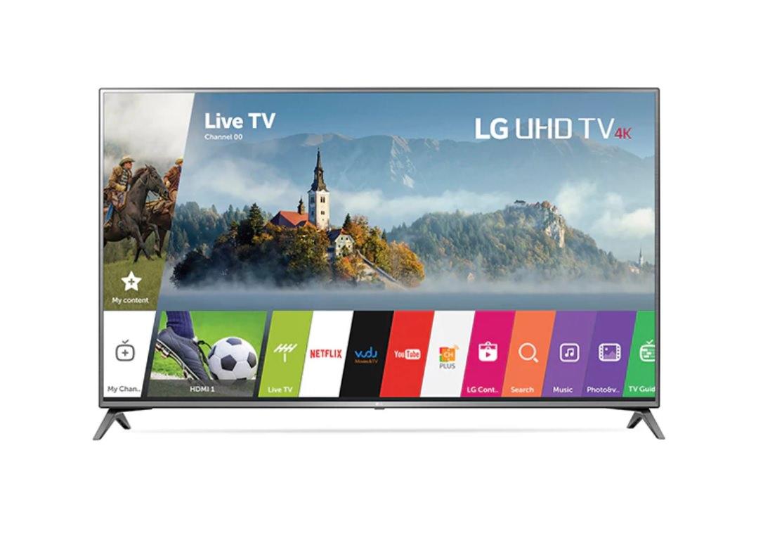 """75"""" LG 75UJ6470 4K UHD HDR Smart LED HDTV - $1499.97 + Free Shipping @ P.C. Richard & Son"""