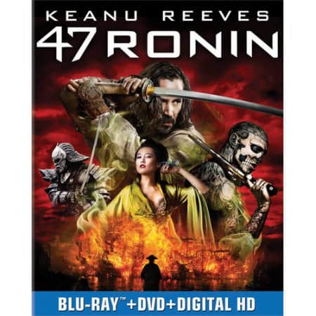 47 Ronin (Blu-ray + DVD + Ultraviolet Digital HD) w/ InstaWatch - $5 + Free Store Pickup - Walmart