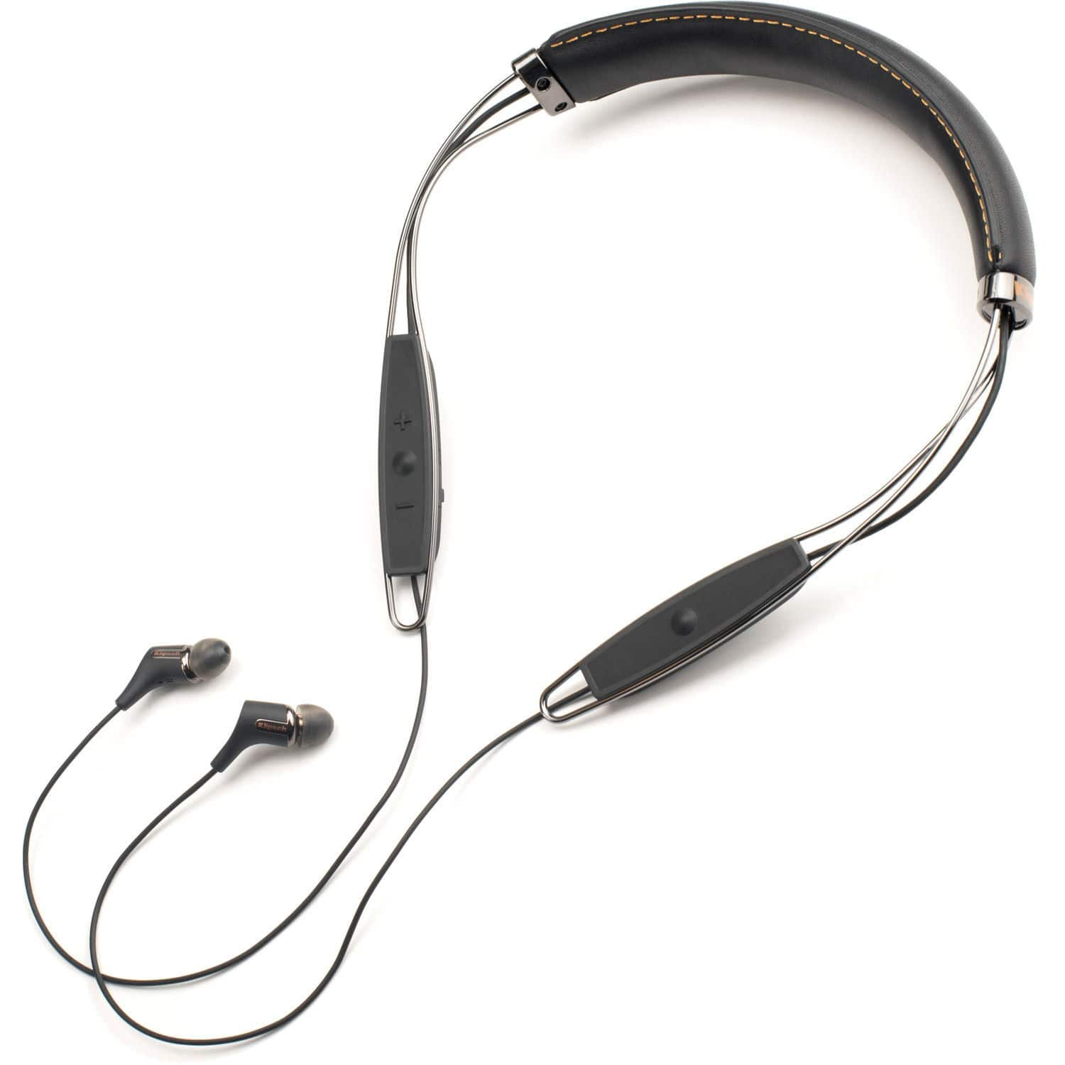 Klipsch R6 Bluetooth Leather Neckband Earphones w/ Mic - $49.99 + Free Shipping