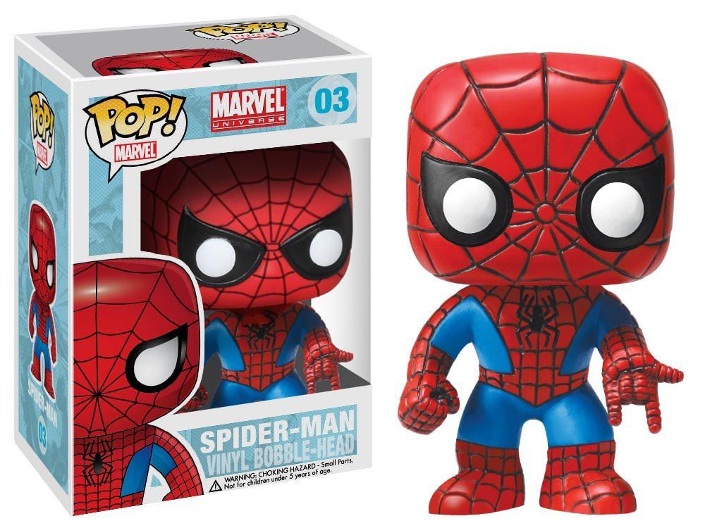 "Add-On: Funko POP! Marvel Spider-Man 4"" Vinyl Bobble Head Figure - $4.73 @ Amazon"