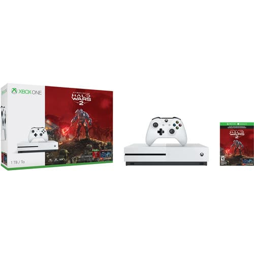 Android Devices w/ Chrome: 1TB Microsoft Xbox One S Halo Wars 2 Console Bundle + $50 B&H eGift Card - $259.99 via Google Pay + Free S&H