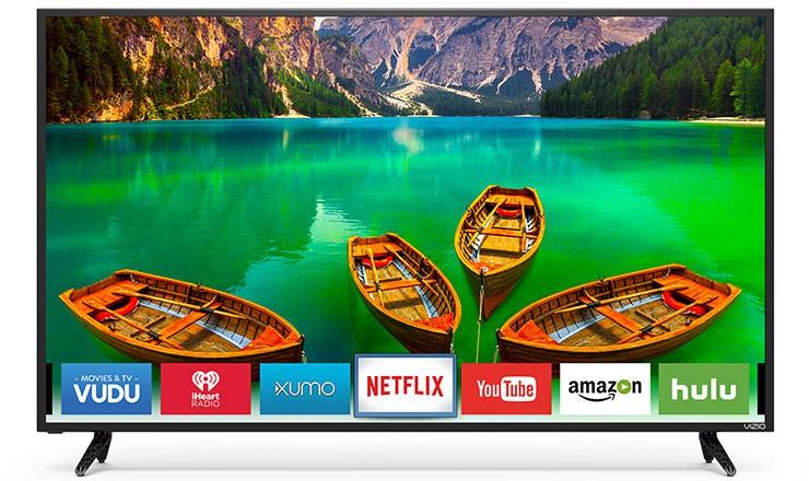 "55"" VIZIO D55-E0 4K Ultra HD Full Array LED Smart TV + $150 Dell Gift Card $499.99 + Free Shipping @ Dell Home"