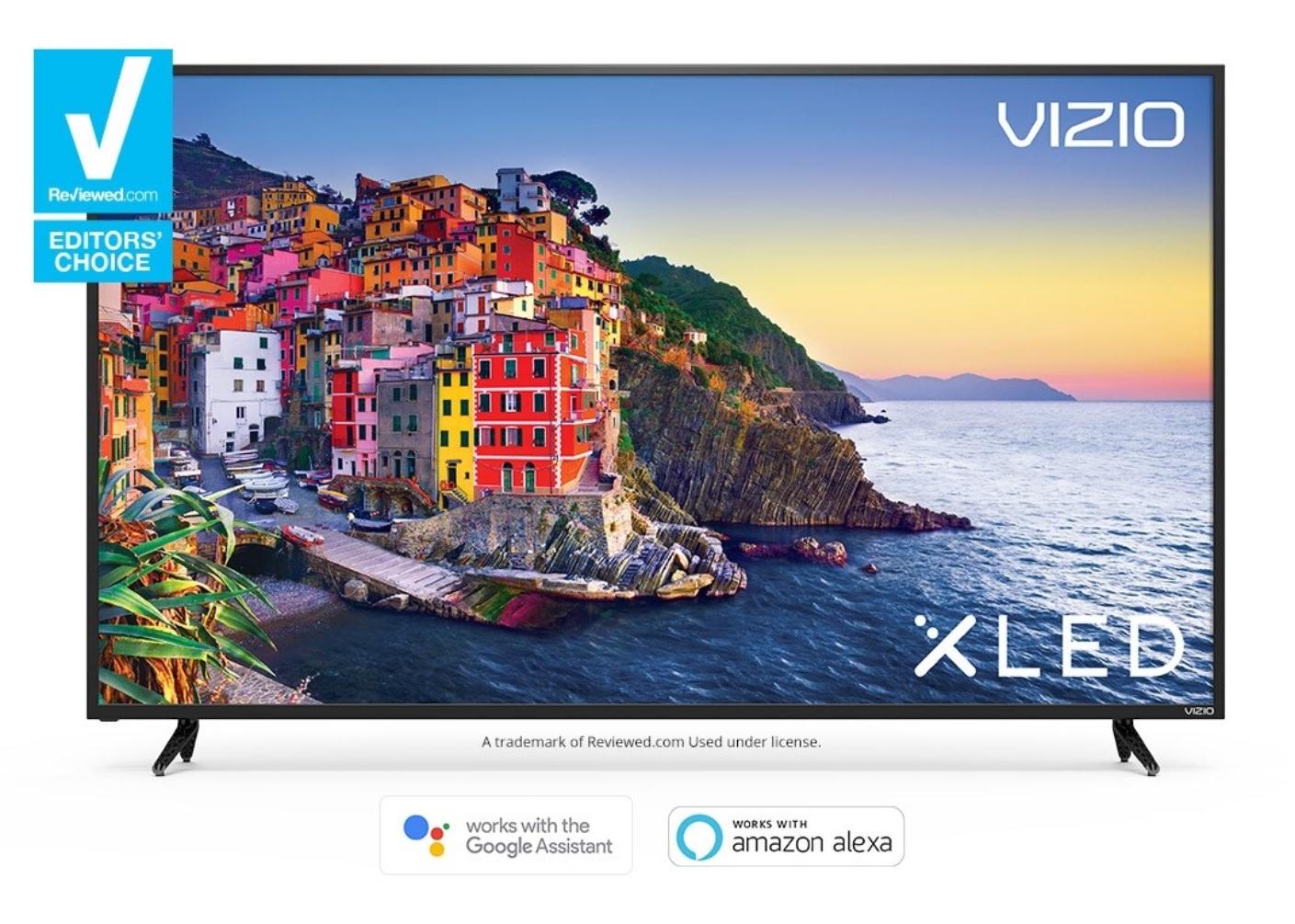 "75"" VIZIO E75-E3 4K Ultra HD Google SmartCast Full-Array LED TV + $350 Dell eGift Card $1400 + Free Shipping"