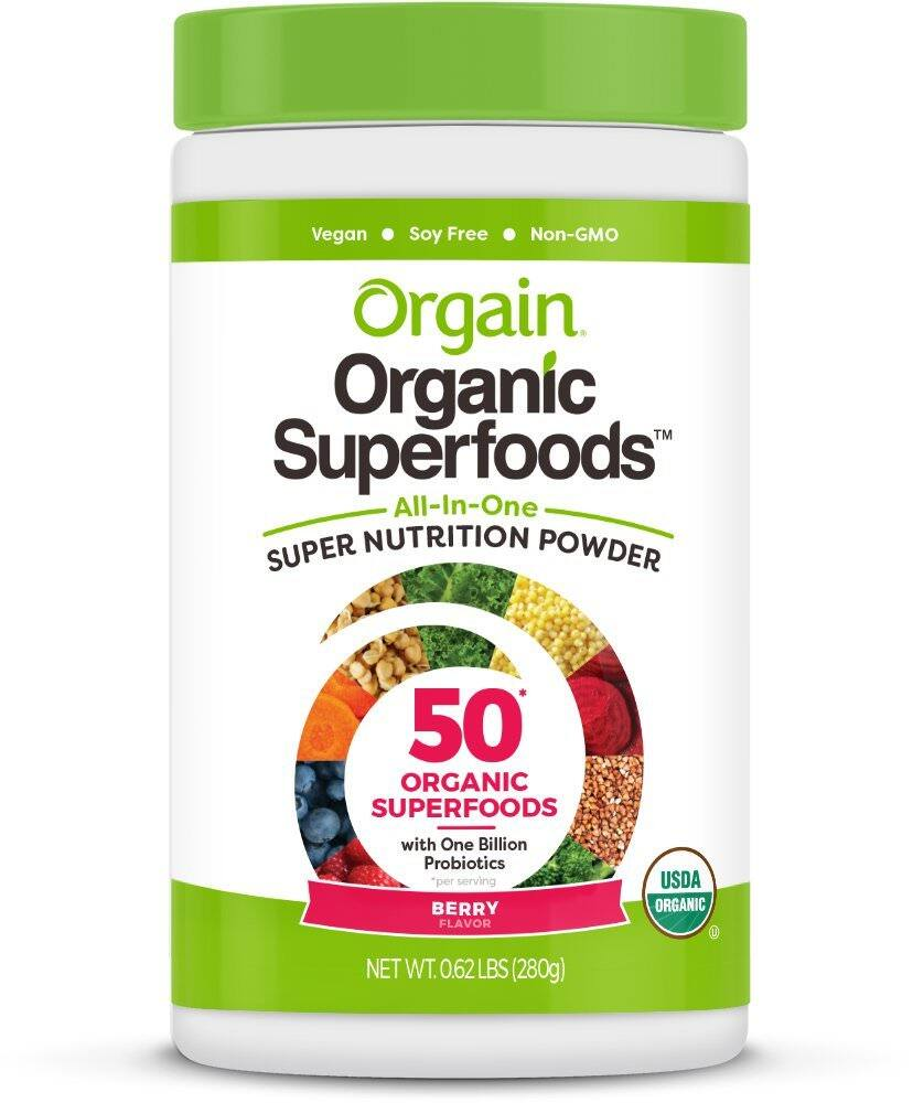 Prime Members: 0.62-lb Orgain Organic Superfoods Nutrition Powder (Berry Flavor) $14.09 w/ Subscribe & Save + Free Shipping - Amazon