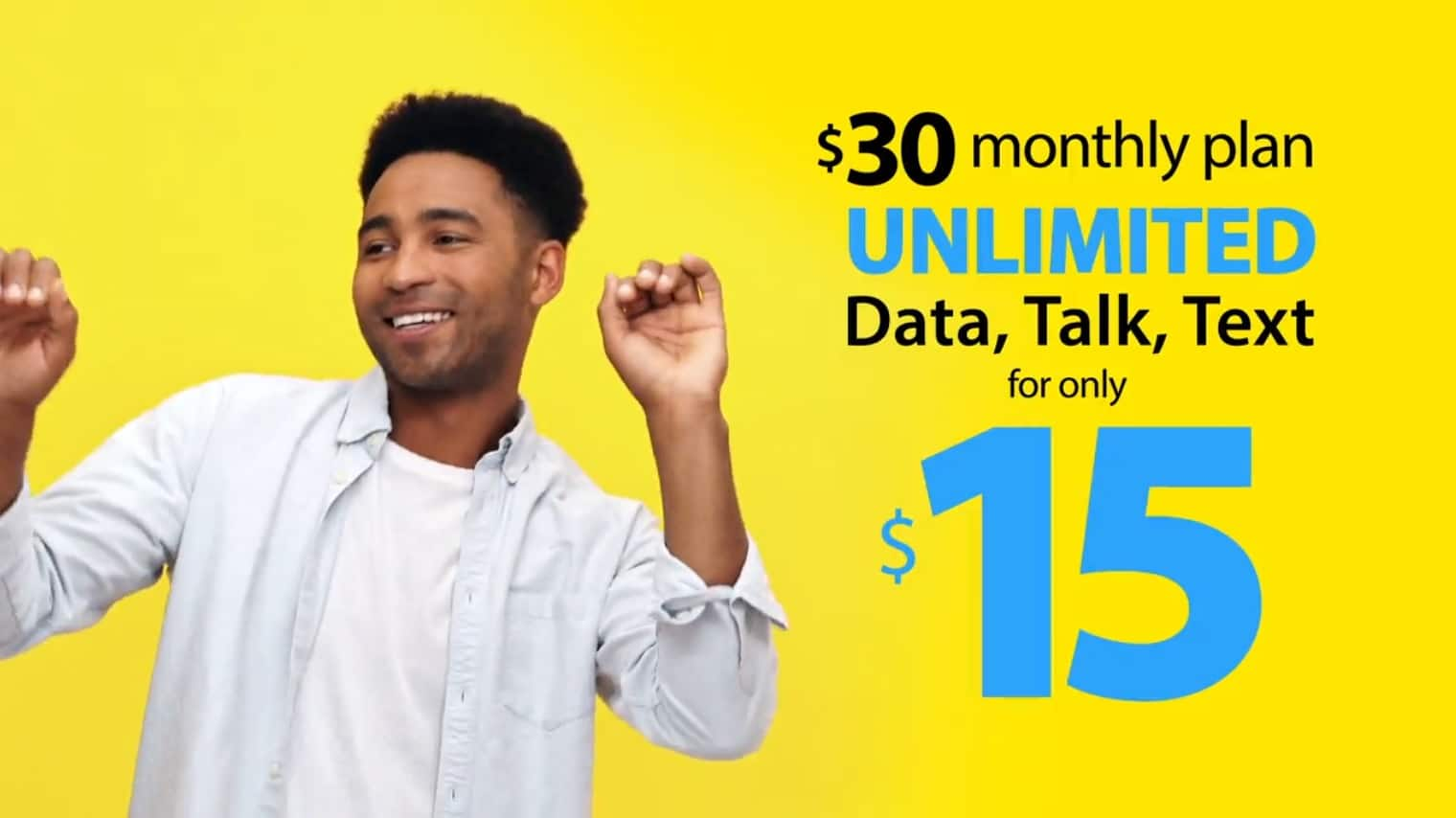 H2O Wireless: 50% Off 1st Month on All Monthly Unlimited Plans: $30 Unlimited Talk, Text, Data w/ 4GB LTE Plan - $15 & More