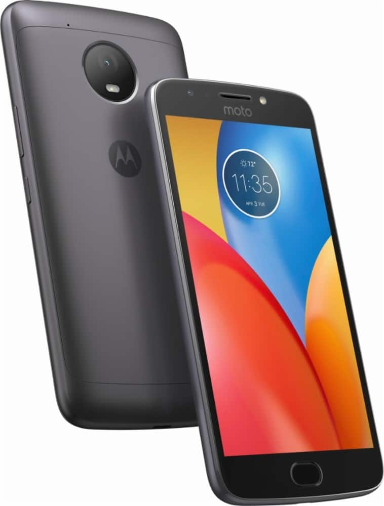 Best Buy: 16GB Motorola Moto E4 Plus GSM/CDMA Unlocked Smartphone (Refurbished) + $25 Cricket Wireless Refill & SIM Card - $89 + Free Shipping
