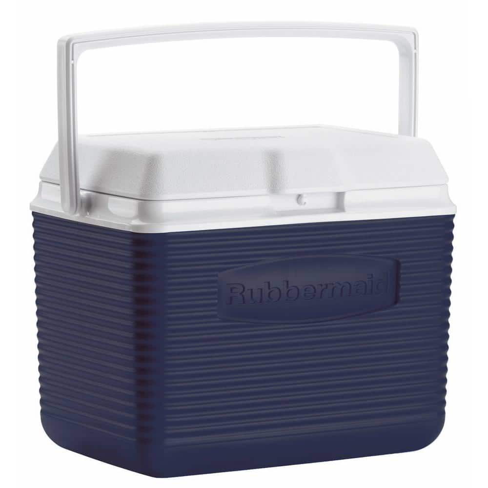 10-Qt Rubbermaid Igloo Ice Chest Cooler (Modern Blue) - Slickdeals.net