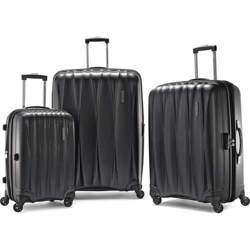 17d0fd303 3-Piece American Tourister Arona Hardside Spinner Luggage Set ...
