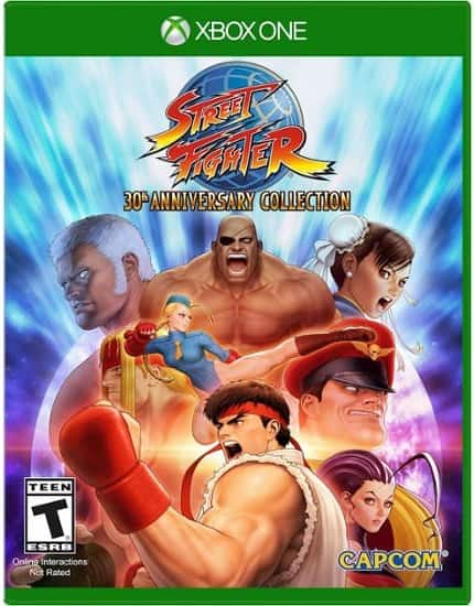 Street Fighter 30th Anniversary Edition (Xbox One) Pre-Owned $17.99 + Free Shipping @ GameFly