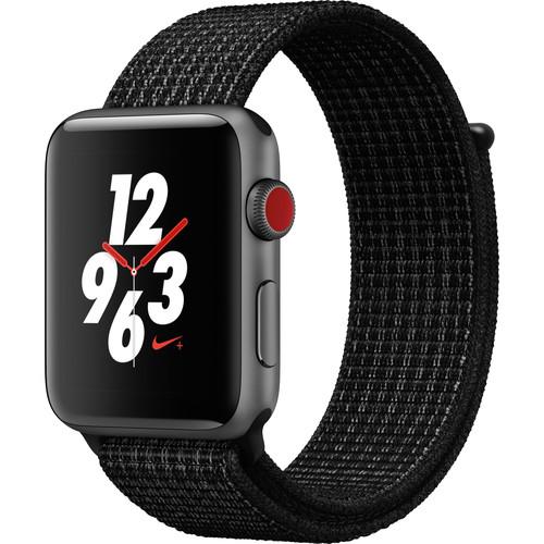 63191382fd82 Apple Watch Nike+ Series 3 42mm GPS + Cellular Smartwatch ...