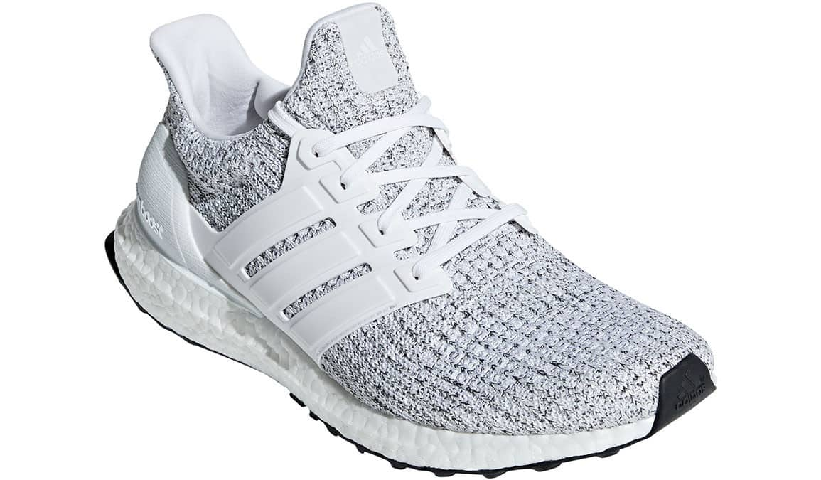 1ab5068275ef7c adidas Men s UltraBOOST 4.0 Running Shoes (White Grey) - Slickdeals.net