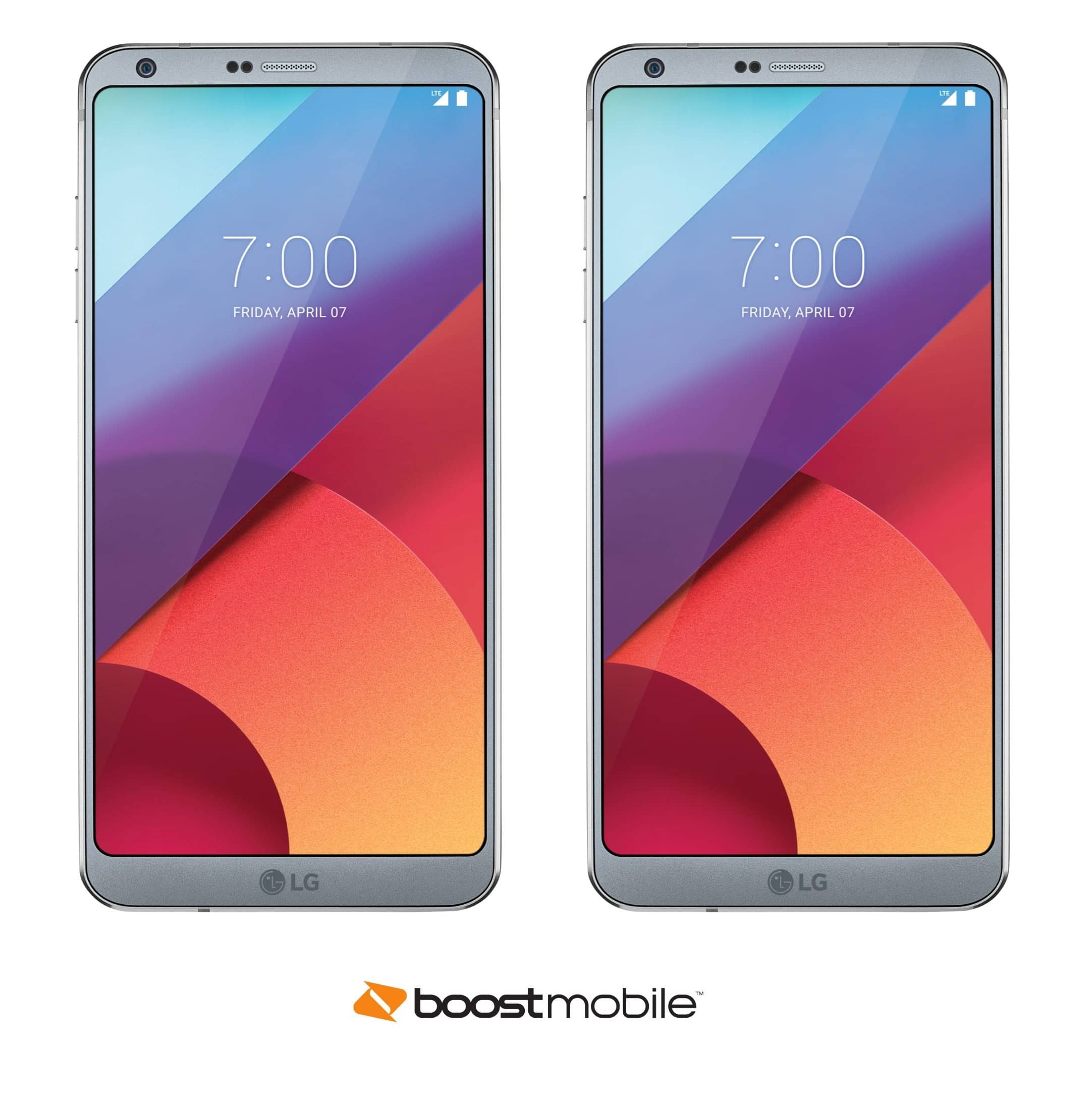 Boost Mobile In-Store Offer: Two Boost Mobile LG G6 Smartphones for $29.99 each w/ Port-In + Activation of Two Lines (starting at $50/line)