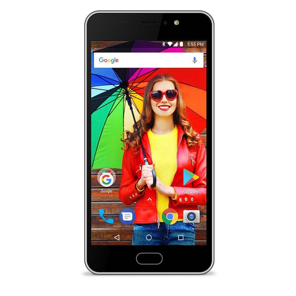 "16GB Orbic Wonder 5.5"" Unlocked Smartphone + $40 Cricket Prepaid Card - $109.98 + Free Shipping @ Best Buy"