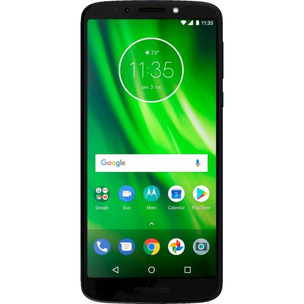 Motorola Moto G6 32GB Unlocked Smartphone (Refurbished) + $40 Cricket Wireless Card - $127.98 @ Best Buy