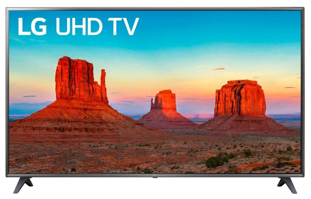 "75"" LG 75UK6190PUB 4K HDR Smart TV + $250 Dell Promo eGift Card - $999.99 + FS @ Dell"