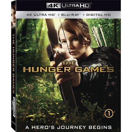 The Hunger Games (4K Ultra HD + Blu-ray + Digital HD) $9.96 + Free Store Pickup @ Walmart / Amazon