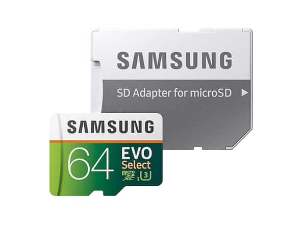 3-Pack 64GB Samsung EVO Select U3 MicroSD Memory Cards w/ Adapter - $30.99 + Free Shipping w/ Amazon Prime @ Woot