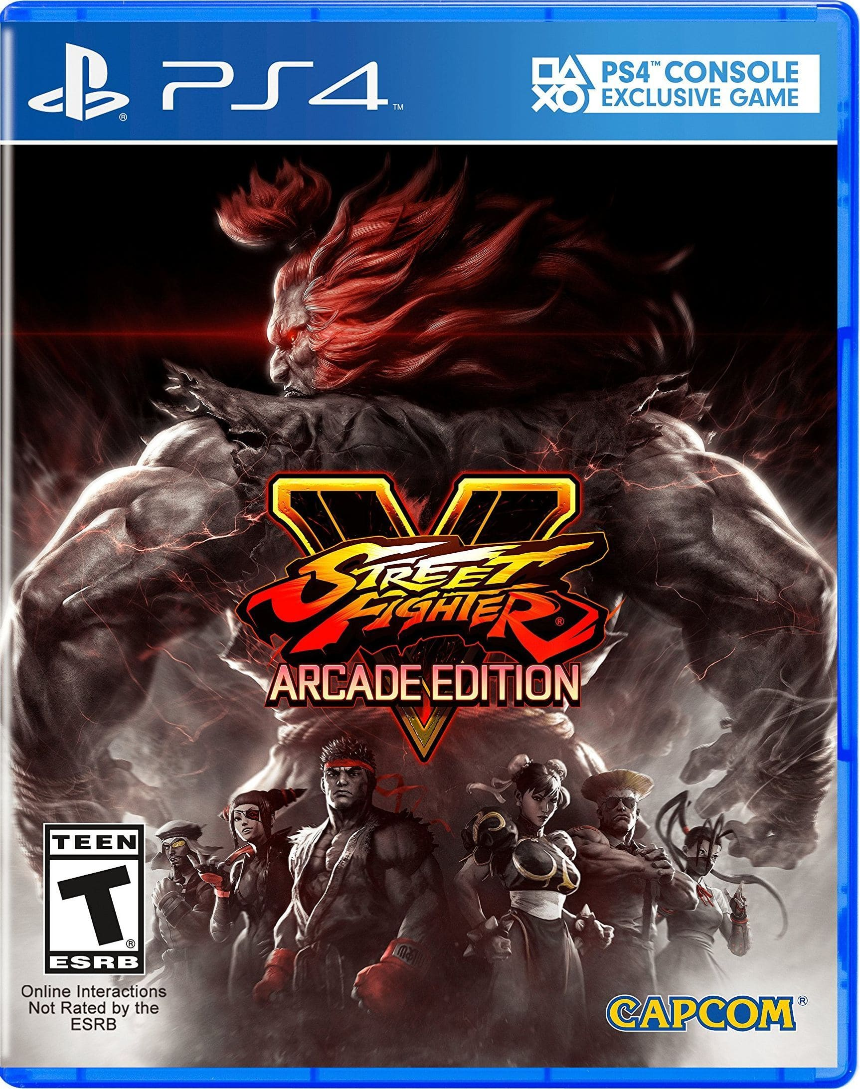 street fighter 5 arcade edition ps4 code