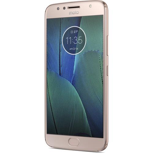 32GB Motorola Moto G5S Plus Factory Unlocked Smartphone (Blush Gold) $139.99 + Free Shipping - Motorola via eBay