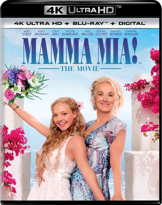 Mamma Mia! 10th Anniversary Edition (4K Ultra HD + Blu-ray + Digital) - $11.99 @ Amazon