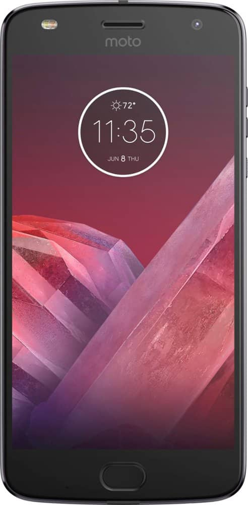Verizon Moto Z2 Play 32GB Smartphone: $24 + $40 Activation/Upgrade Fee = $64 + Tax. No Bill Credits. For New or Existing Verizon Lines/Plans @ Best Buy