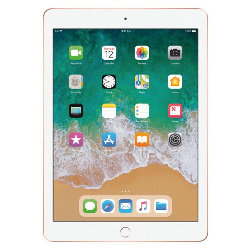 128GB Apple iPad 6th Gen WiFi Tablet (2018, Open Box) - Gold - $288 + Free Shipping - eBay