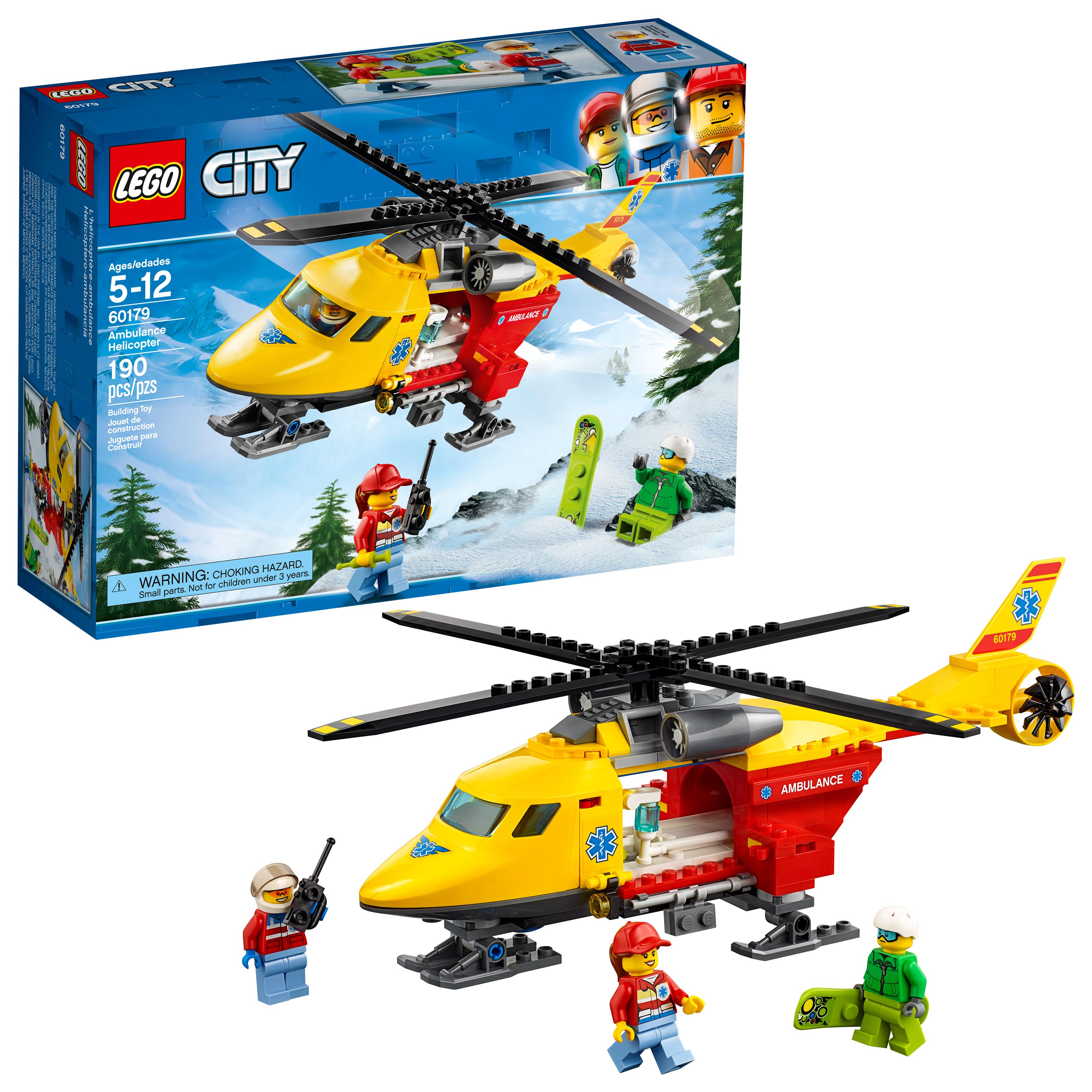 LEGO City Ambulance Helicopter Building Kit (60179) $11.99 @ Walmart / Amazon