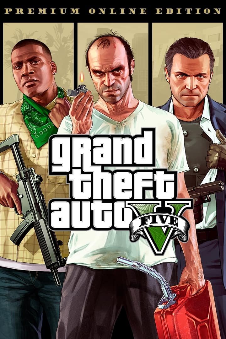 Grand Theft Auto V: Premium Online Edition (PC Digital Download) - $12 @ VOIDU