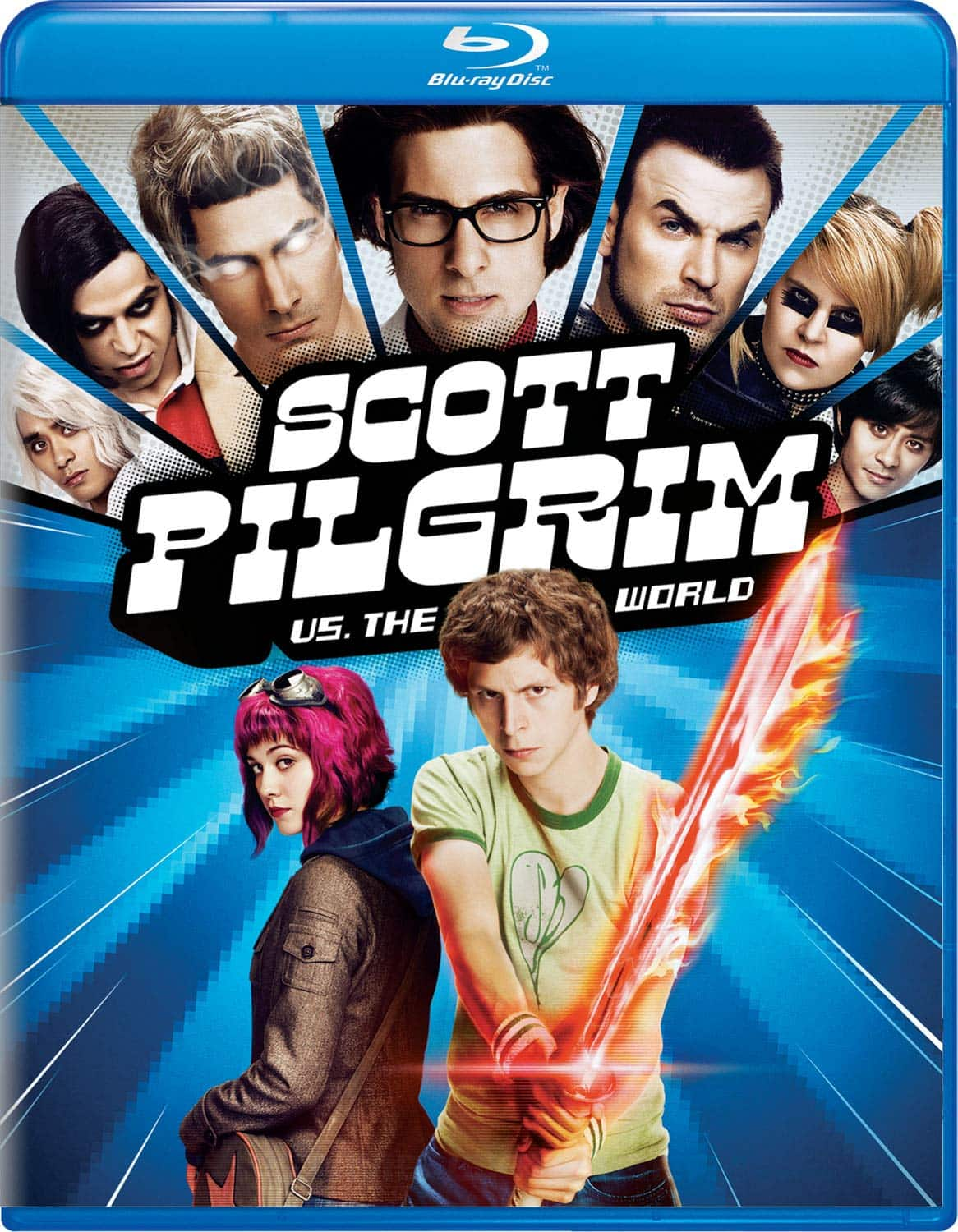 Scott Pilgrim vs. The World (Blu-ray) $4