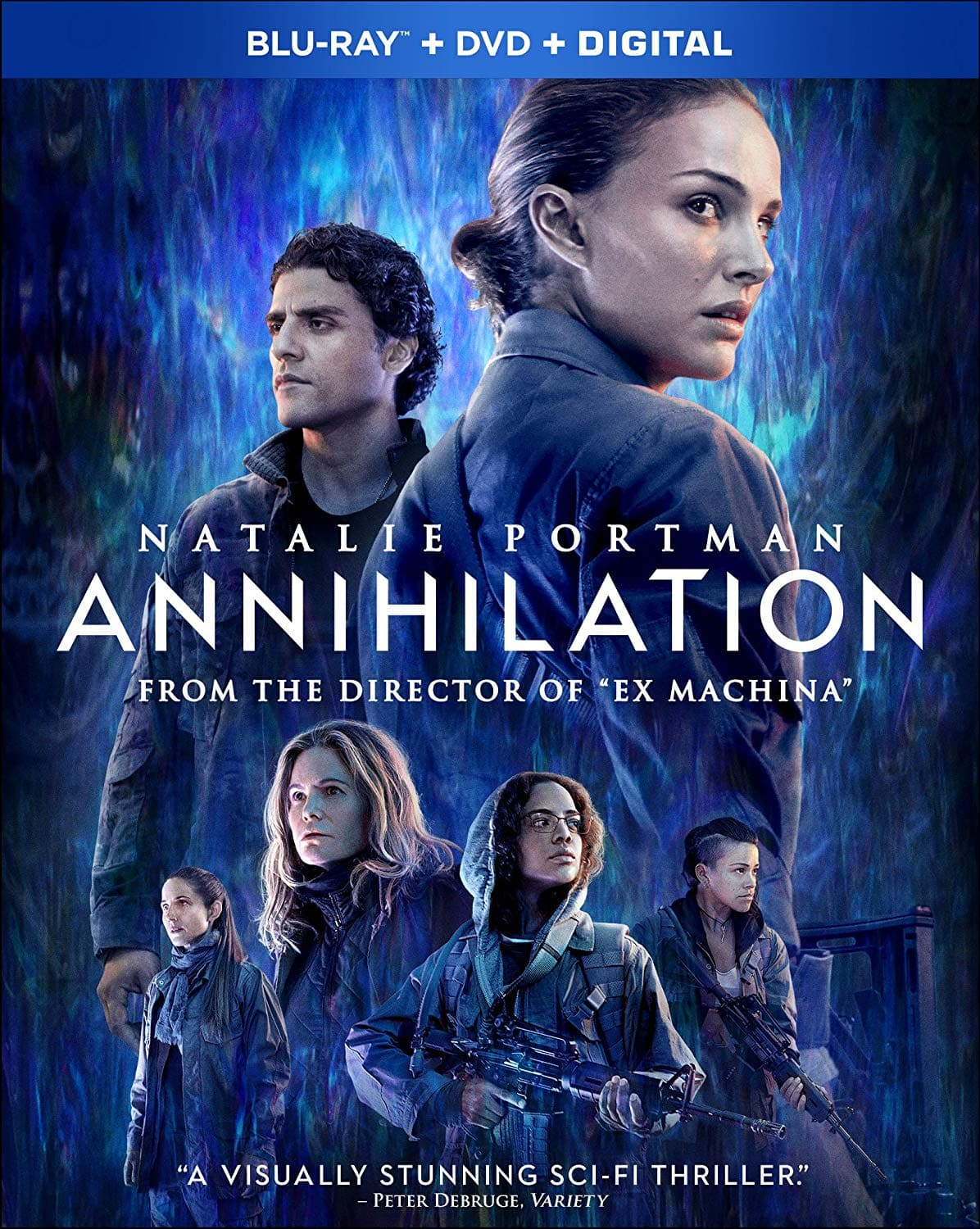 Annihilation (Blu-ray + DVD + Digital HD) - $8.50  @ Walmart / Amazon